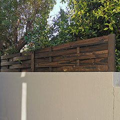 how to increase fence height