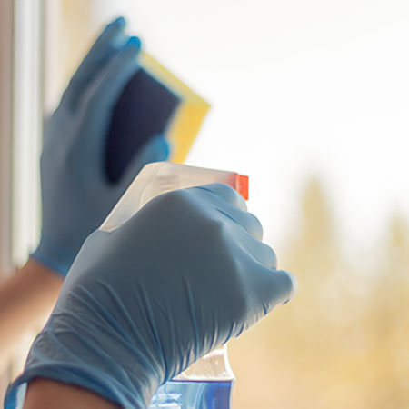 tips for cleaning windows