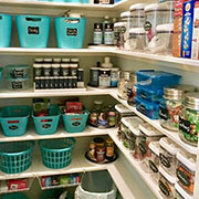 ideas to organise pantry