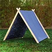 diy childrens play tent