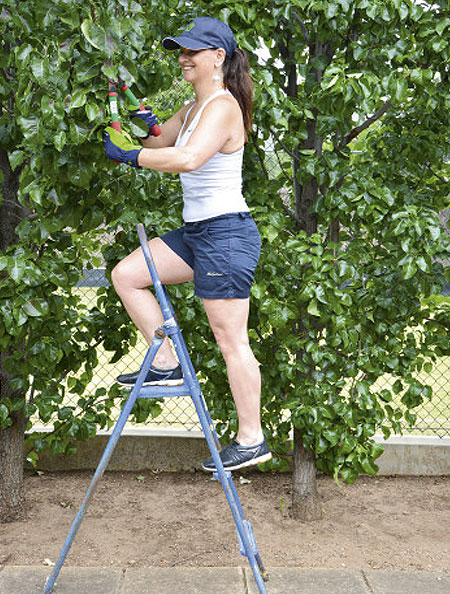 prevent back or shoulder ache in the garden