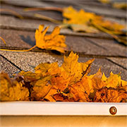 easy way to keep gutters clean