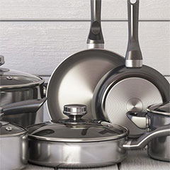 caring for stainless steel pots and pans