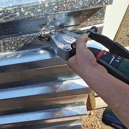 How to Cut IBR Sheet or Roofing with Ease
