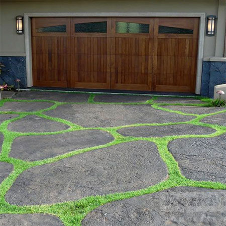 How to Lay Concrete Rock Driveway