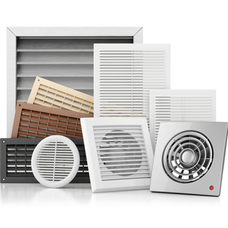 air circulation vents prevent condensation