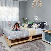 childrens pine bed base