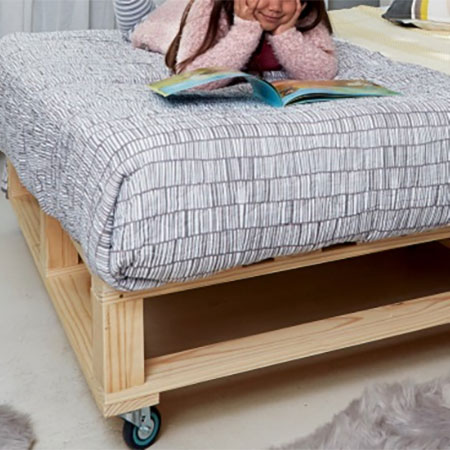 Make a Sturdy Pine Base for Children's Bed