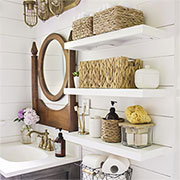 baskets for storage and organisation