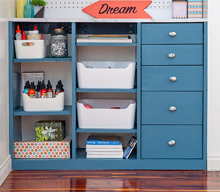 make a diy craft organizer