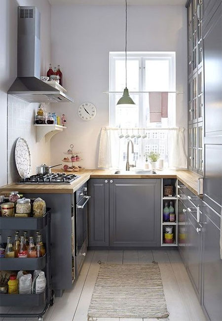 Working with A Compact Kitchen Design