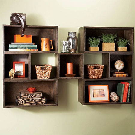 Make Easy Box Shelves for Storage in any Room