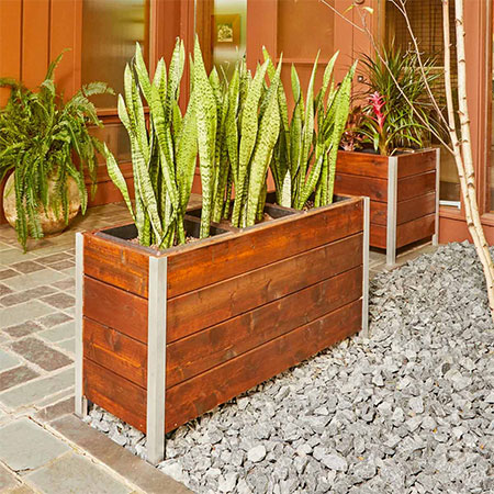 easy outdoor garden planter