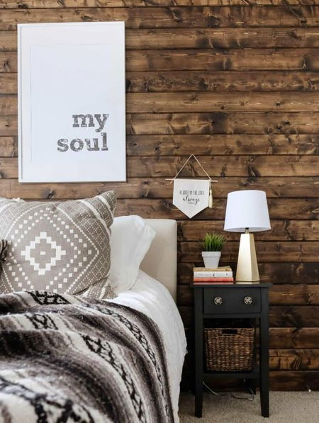 use wood for cladding walls