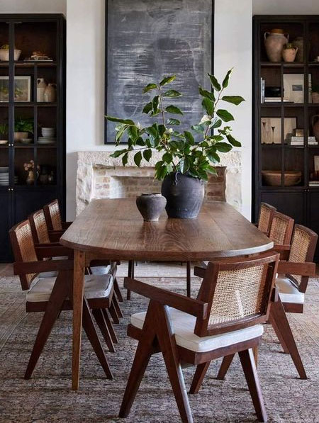 what wood for dining table