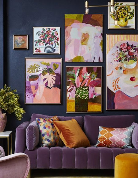 how to add colour to living room