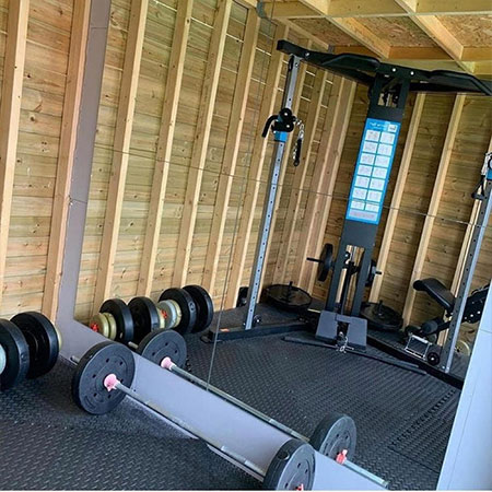 Do Your Workout Or Have A Gym In A Shed