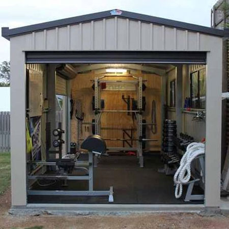 ideas for home workout or home gym
