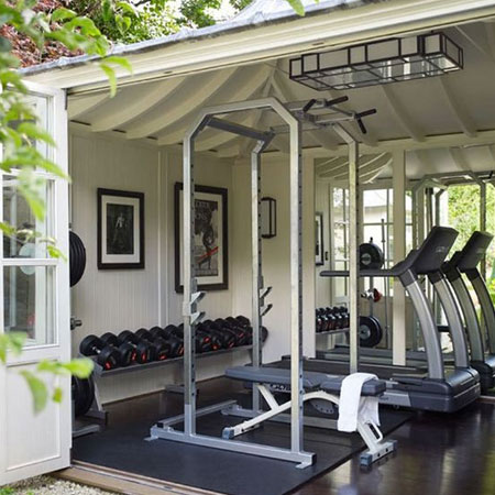 ideas for building home gym