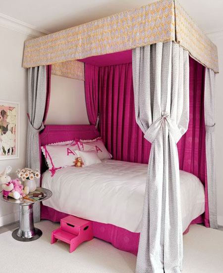 canopy bed for little girls