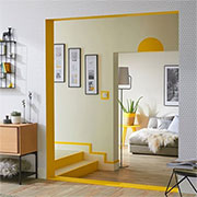 painted door frames