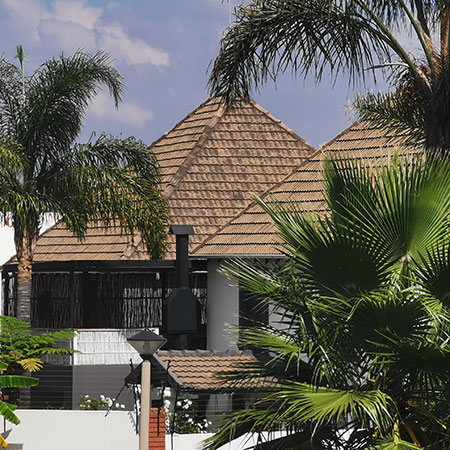 How to paint your roof tiles