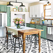 historical kitchen gets a makeover