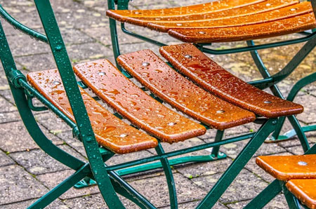 protect garden furniture from moisture