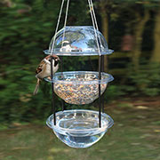 recycle plastic bird feeder