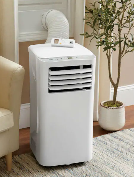 portable or fixed air conditioner