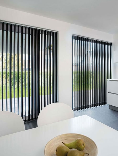 use blinds to keep rooms cool