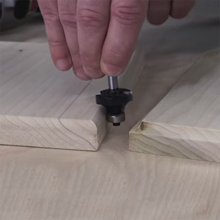 Buy the router bits you will need