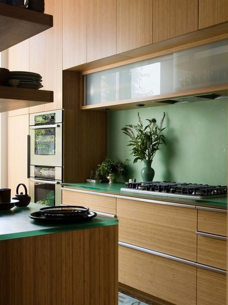 bamboo kitchen design