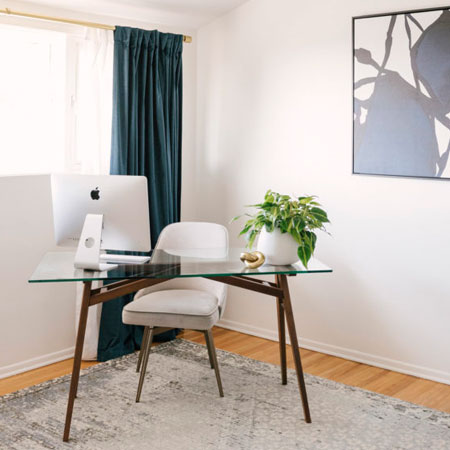 make home office space yours with personal touches
