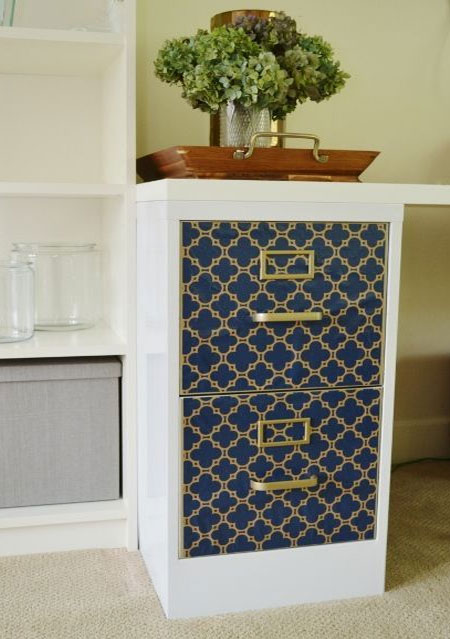 paint and wallpaper file cabinet