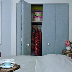 beautiful upholstered closet doors