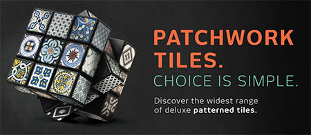 patchwork tiles from italtile