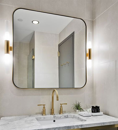 best lighting for bathroom mirror