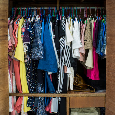 Easy Steps To An Organised Closet