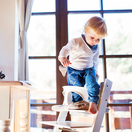 Secure Children's Furniture To Walls