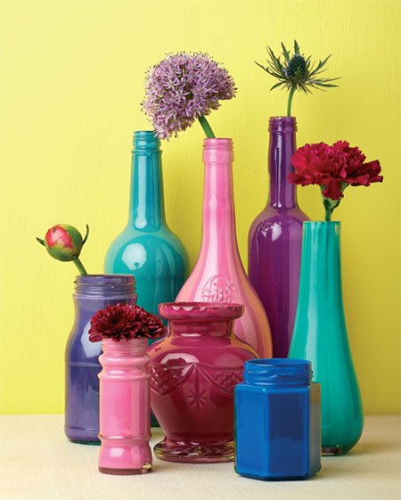 Make Your Own Colourful Bottles