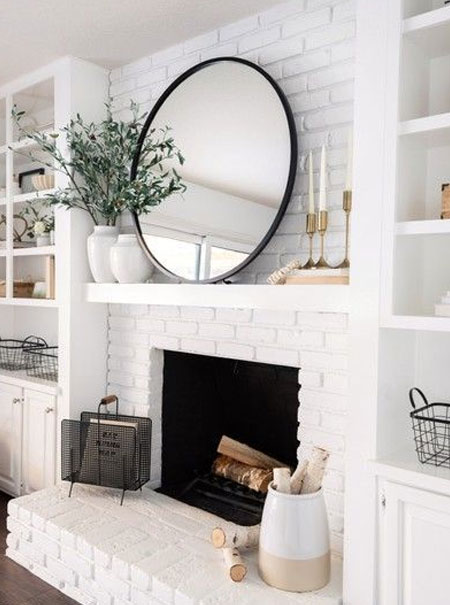 tutorial to whitewash brick wall
