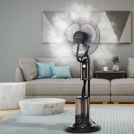 Milex XL Misting Fan available at homemark.co.za