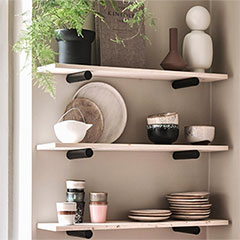 easy diy wall shelves