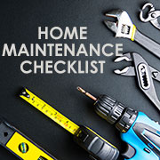 monthly home maintenance checklist