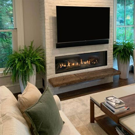 invest in gas fireplace