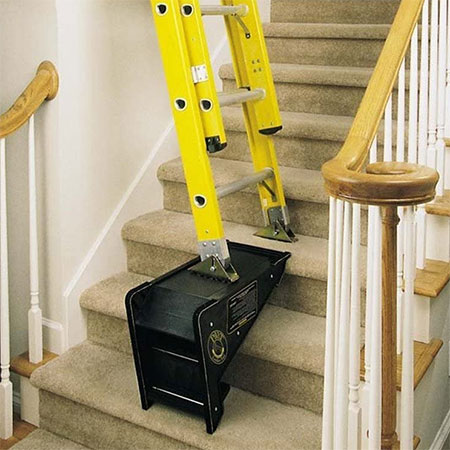 ladder leveller for when painting staircase
