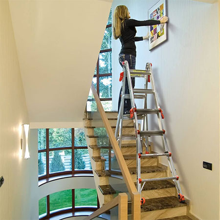 how to paint wall staircases and ceiling