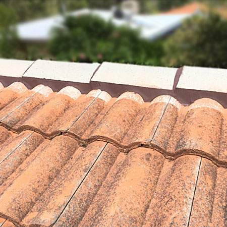 remove and repoint roof ridge caps