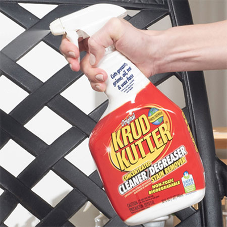 Use Krud Kutter Original for indoor and outdoor cleaning
